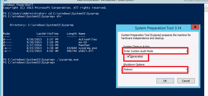 How to Change SID in Server 2012 for cloned Image