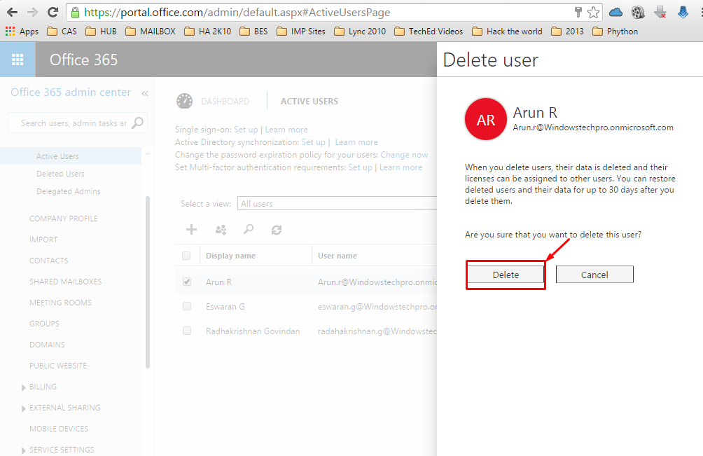 How to Restore Mailbox in Office 365 | Windowstechpro