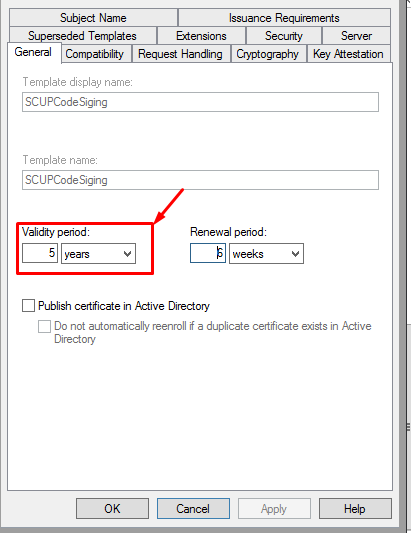 Ca is issuing certificates only for three years windowstechpro above template shows that certificate validity period 5 years but when it is issues the certificate provides the certificate validity only for 3 years yadclub Gallery