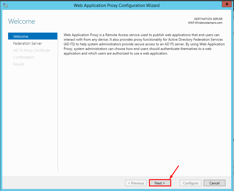 How to Deploy Web Application Proxy in Server 2012 R2 | Windowstechpro
