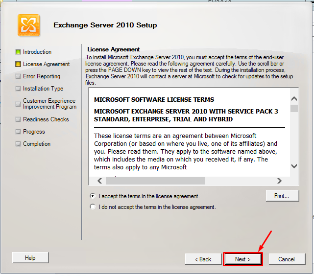 microsoft exchange server 2016 trial