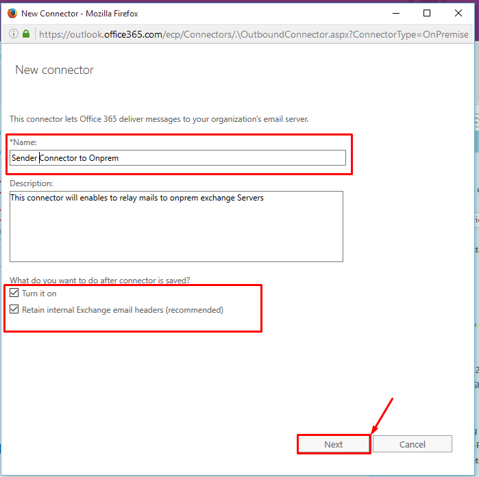 How to transition SMTP Mail Flow Service to office 365