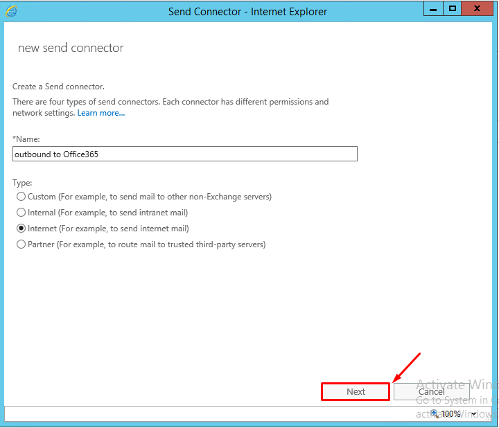 How to transition SMTP Mail Flow Service to office 365 Exchange