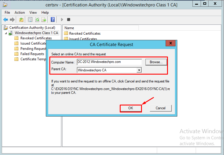 How to migrate pki 2 tier sha1 to sha256 in windows server 2012 r2 now the subordinate ca certificate also in the sha 256 hash algorithm yadclub Choice Image